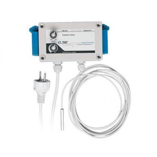 Fan controller temperatura, humedad y baja presion 16A