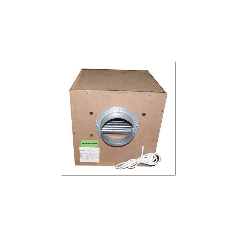 Caja de extracción ISOBOX madera
