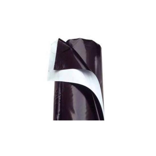 Plastico Blanco/Negro galga 70 ancho 200 cm