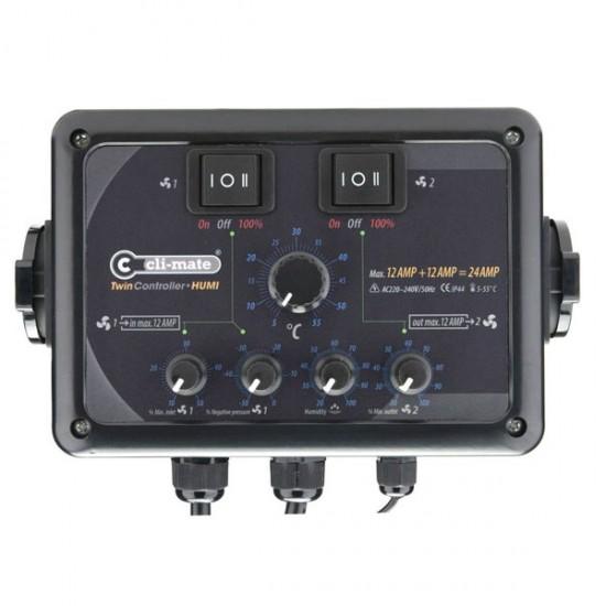 Twin Controller con control de humedad cli-mate