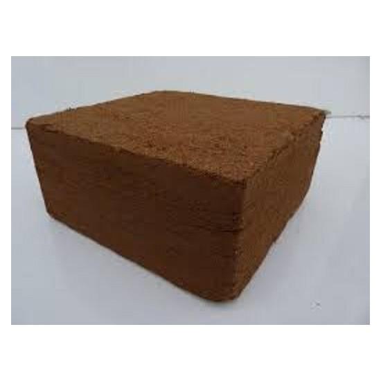 Cocopeat deshidratado-comprimido estructura media Bloque 5 kg