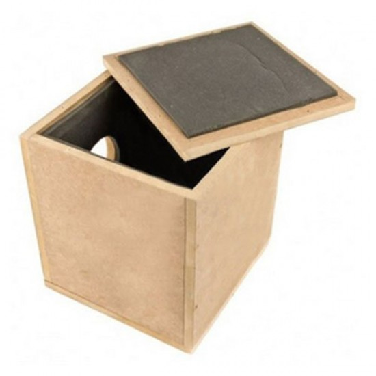Caja de madera Antiruido