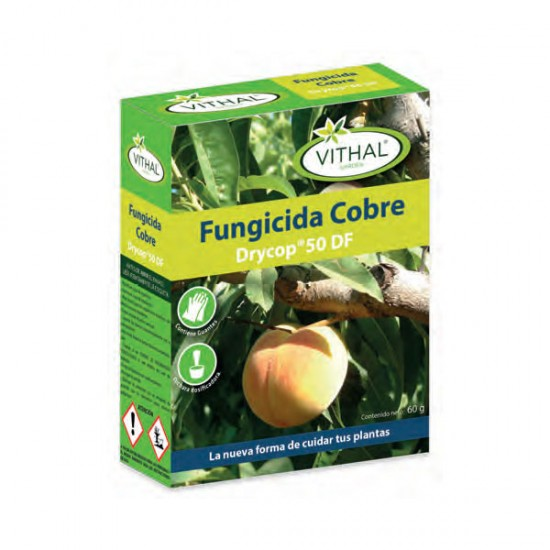 Fungicida Cobre Drycop 50 DF Vithal Garden