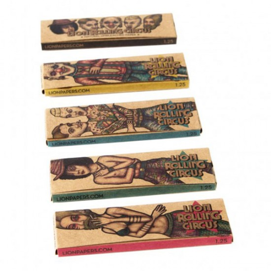 Papel Lion Rolling Circus 1 1/4 Brown